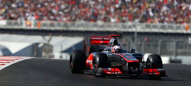 "Jenson Button espera que los Pirelli no sean tan ""decisivos"" como en 2012"