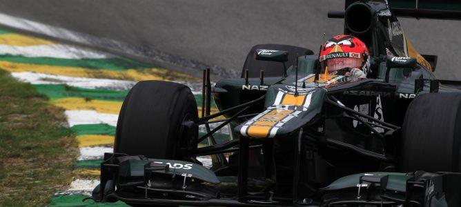Heikki Kovalainen con el CT01