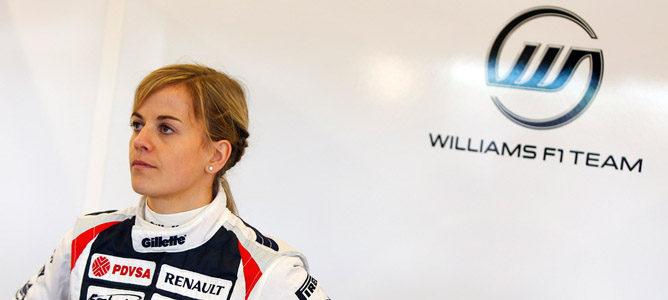 Susie Wolf aclara que seguirá en Williams en 2013