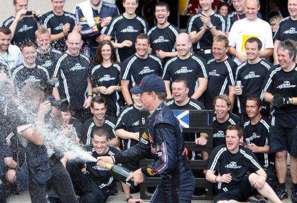 Coulthard logra su 62º podio en Canadá