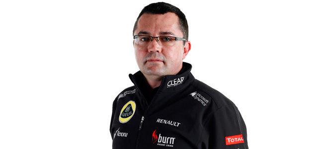 Eric Boullier, jefe del equipo Lotus en 2013