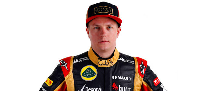 Kimi Räikkönen, piloto de Lotus en 2013