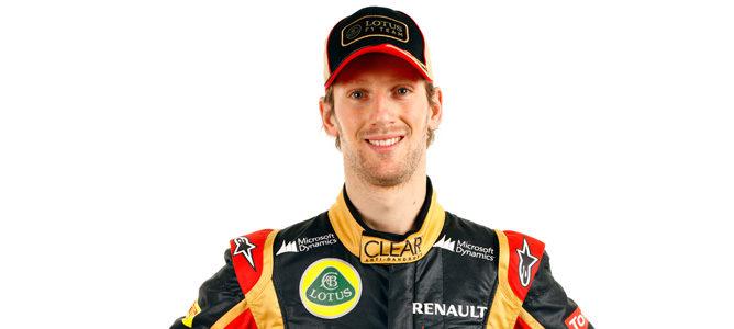 Romain Grosjean, piloto de Lotus en 2013