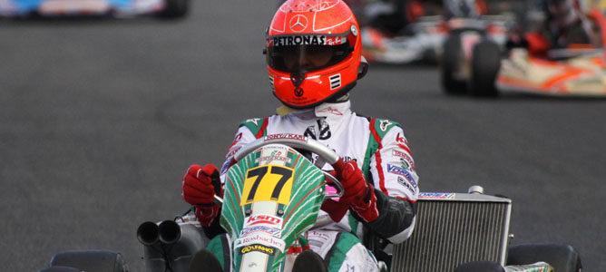 Michael Schumacher será piloto oficial de Tony Kart en la categoría KZ