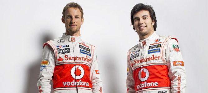 Jenson Button y Sergio Pérez, la pareja de McLaren para 2013