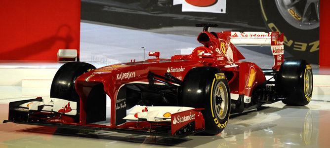 Ferrari F138, el monoplaza de la Scuderia para 2013
