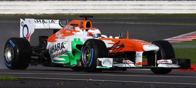 Paul di Resta estrenó el VJM06 en Silverstone
