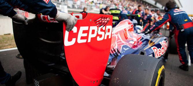 CEPSA continuará patrocinando a Toro Rosso en 2013