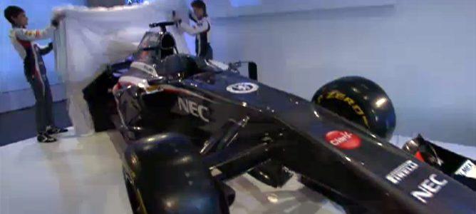 Presentación del Sauber 2013: C32