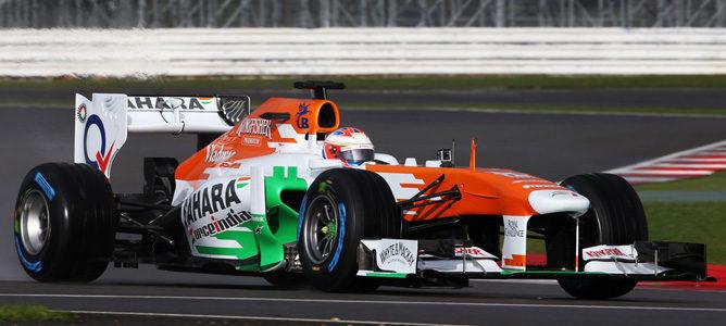 "Force India, que espera anunciar su segundo piloto ""antes de Barcelona"", probará a James Rossiter"