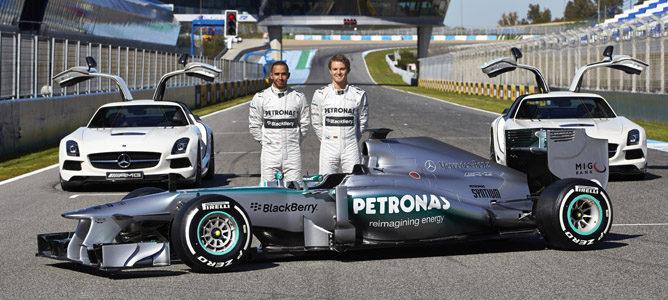 Presentación del Mercedes 2013: W04