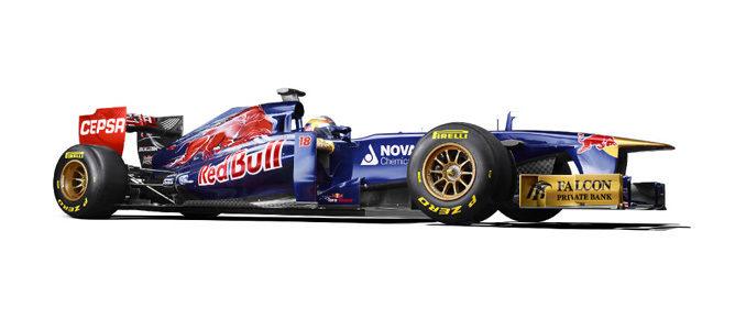 Presentación del Toro Rosso de 2013, STR8