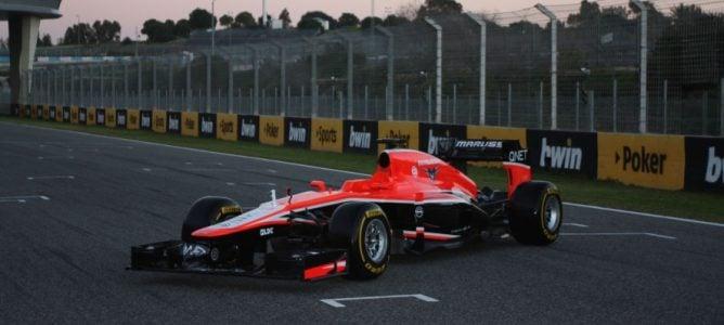 Presentación del Marussia 2013: MR02