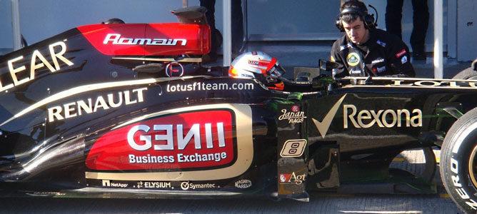 Romain Grosjean lidera la primera mañana de tests en Jerez