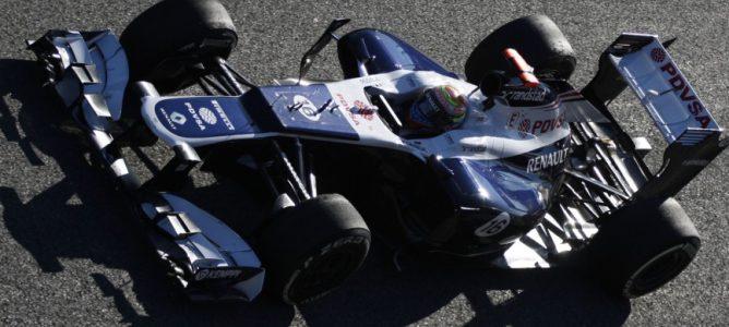 El Williams FW34 rodará en Jerez con la decoración del nuevo FW35