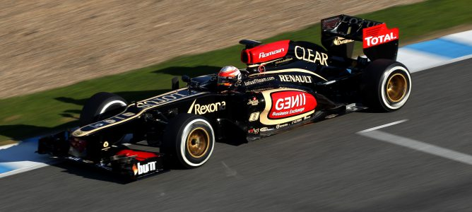 Grosjean en Jerez