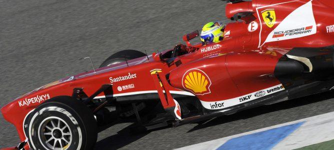 Felipe Massa termina la tercera mañana en Jerez en lo más alto de la tabla de tiempos