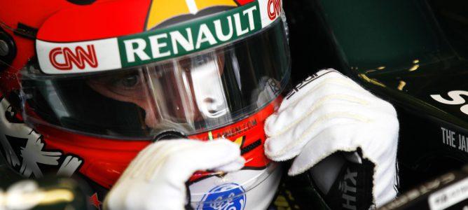 Heikki Kovalainen con Caterham