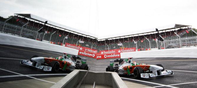 Adrian Sutil se acerca a Force India tras hacerse el asiento para el VJM06
