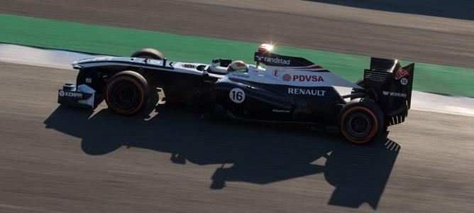 Pastor Maldonado pilotará el FW35 durante el primer día de test en Barcelona