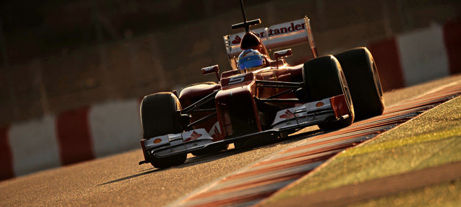 Alineación de pilotos participantes en los primeros test de pretemporada en Barcelona