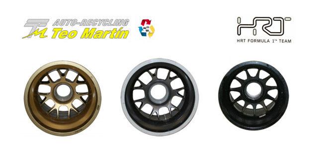 Los componentes de HRT, a la venta desde 150 euros
