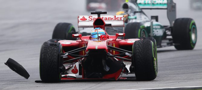"Fernando Alonso: ""Hemos tenido muy mala suerte"""