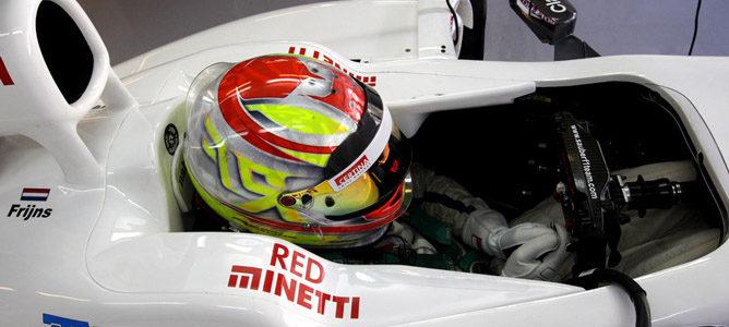 """Robin Frijns: """"Estoy completamente centrado en el trabajo de piloto probador en Sauber"""""""