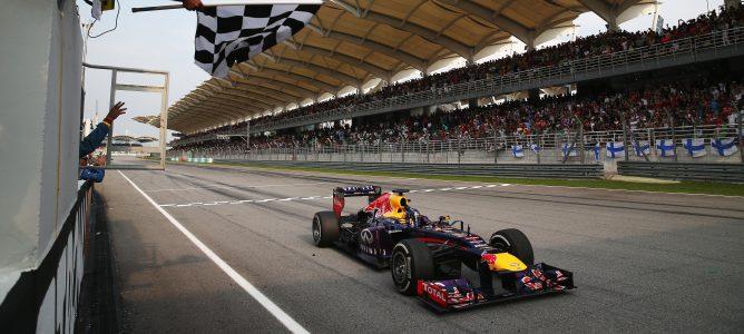 Sebastian Vettel en Malasia