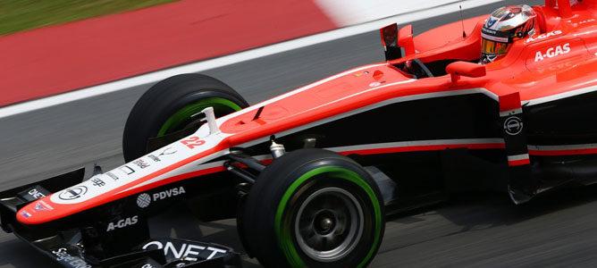 Marussia anuncia novedades aerodinámicas y en suspensiones para China