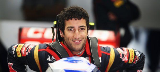 Daniel Ricciardo en China