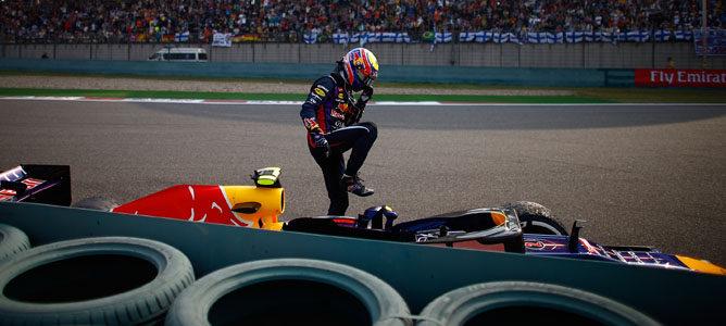 Mark Webber y Esteban Gutiérrez, sancionados con tres y cinco posiciones para Baréin