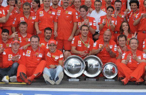 Ferrari se paseó en Francia y dominará en Gran Bretaña