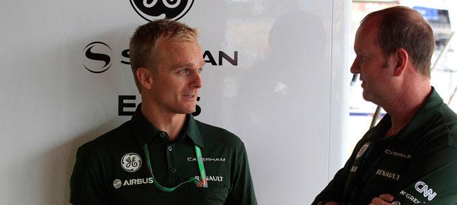"""Heikki Kovalainen: """"Creo que voy a tener más tiempo en el CT03"""""""