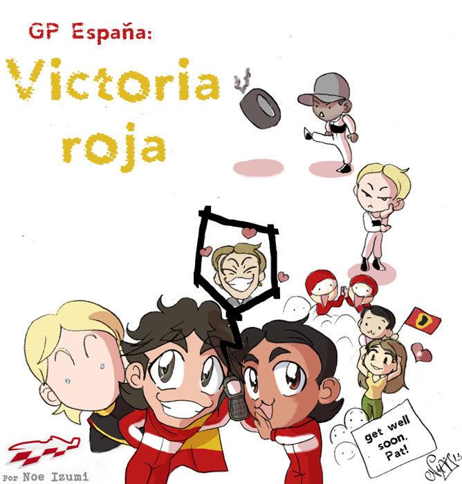 Los Chibis (110): Victoria Roja