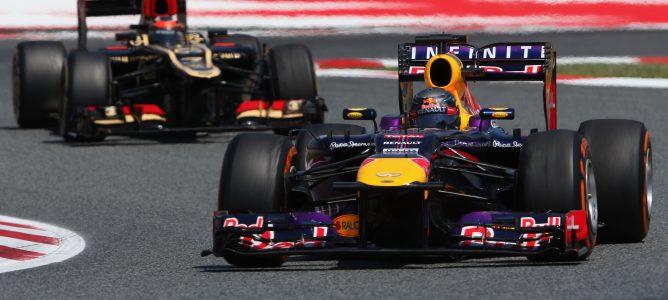 Sebastian Vettel fue 4º en el GP de España 2013