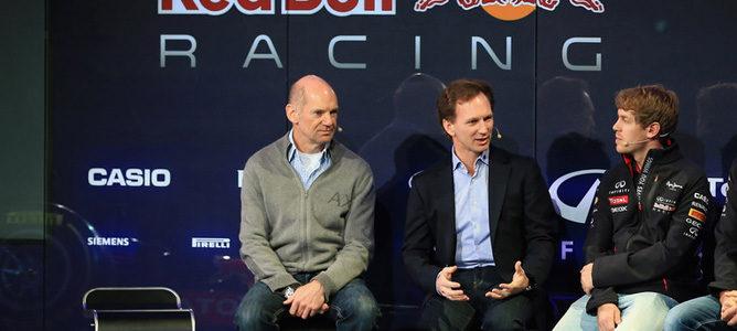 """Christian Horner: """"Sebastian Vettel se siente cómodo en Red Bull"""""""