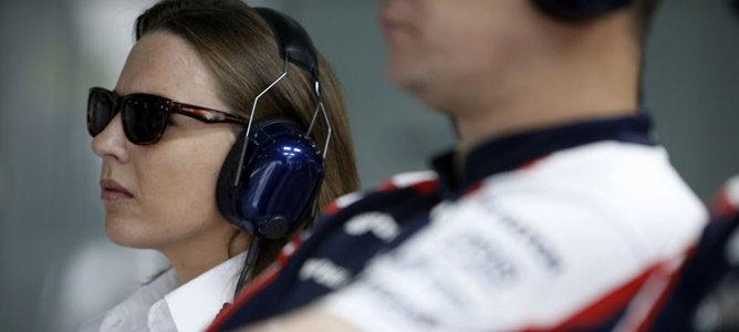 """Claire Williams: """"Con Valtteri Bottas, tenemos un campeón del mundo en nuestras manos"""""""