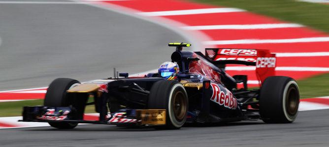 """Daniel Ricciardo admite que el STR8 es """"muy rápido"""" en determinadas condiciones"""