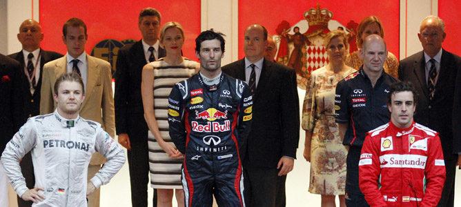Mark Webber gana el GP de Mónaco 2012 F1