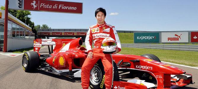 Kamui Kobayashi debuta con un F1 de Ferrari a los mandos del F10 en Fiorano