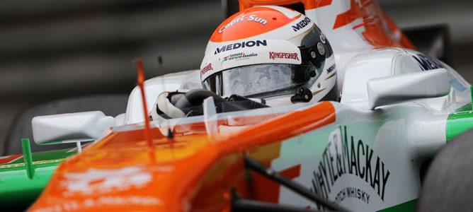 """Adrian Sutil tras la quinta posición en Mónaco: """"Fue un gran trabajo en equipo"""""""