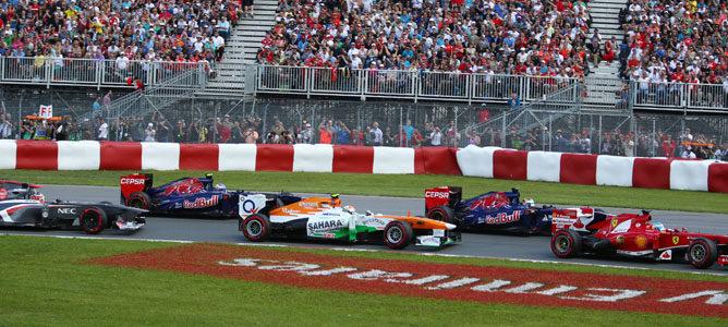 Sebastian Vettel arrasa de principio a fin en el GP de Canadá 2013