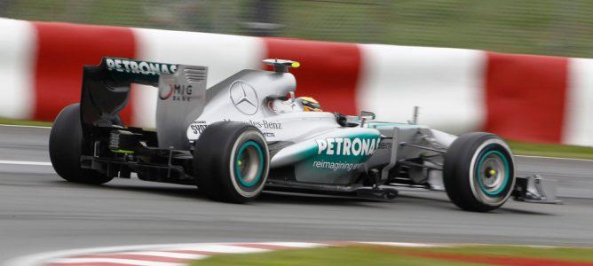 """Lewis Hamilton: """"Simplemente no tuvimos el mismo ritmo que Sebastian y Fernando"""""""
