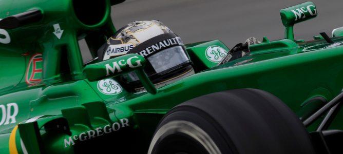 Giedo Van der Garde perderá cinco posiciones en la parrilla del Gran Premio de Gran Bretaña