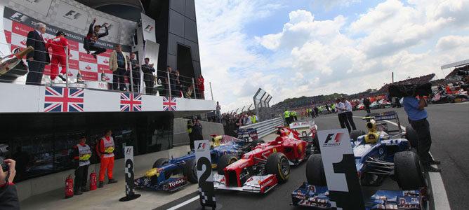Mark Webber gana el GP de Gran Bretaña 2012 F1