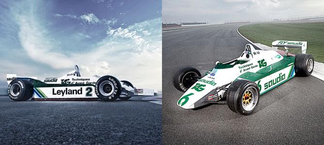 Williams celebra su 600º Gran Premio con una selección de sus mejores coches