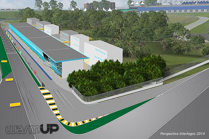 Así será el nuevo Interlagos a partir de 2014