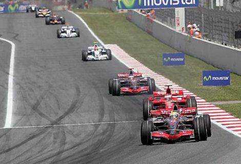 Fotos del Gran Premio de España de Fórmula 1