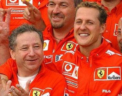 Jean Todt no cree que Schumacher quiera ser su sucesor en Ferrari